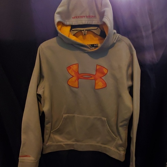 boys large under armour hoodie